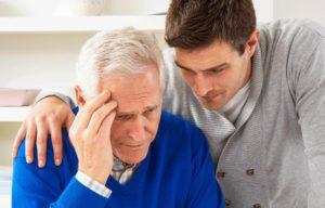 Деменция у пожилого человека