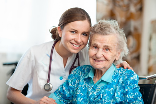 Сестринский уход за пожилым человеком